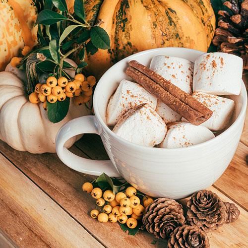 Guimauve d'automne - Parfum bougie et fragrance cosmétique