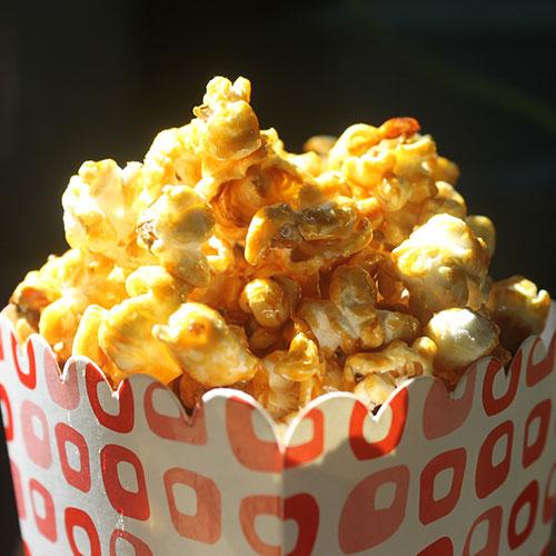 Popcorn caramel - parfum bougie et fragrance cosmétique